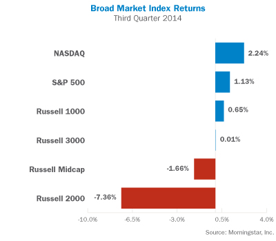 Broad Market Index Returns